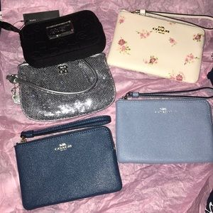 💥New Coach and Marc Jacobs Wristlets Brand New💥